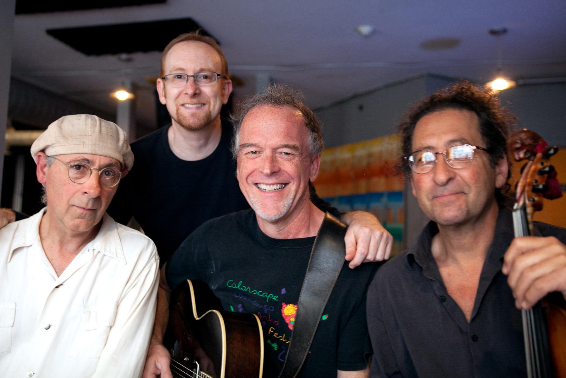 Harry Aceto, Chad Lieberman, Doug Robinson and Eric Aceto